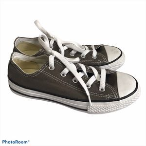 Converse All Stars Grey Sneakers Youth Size 1.5